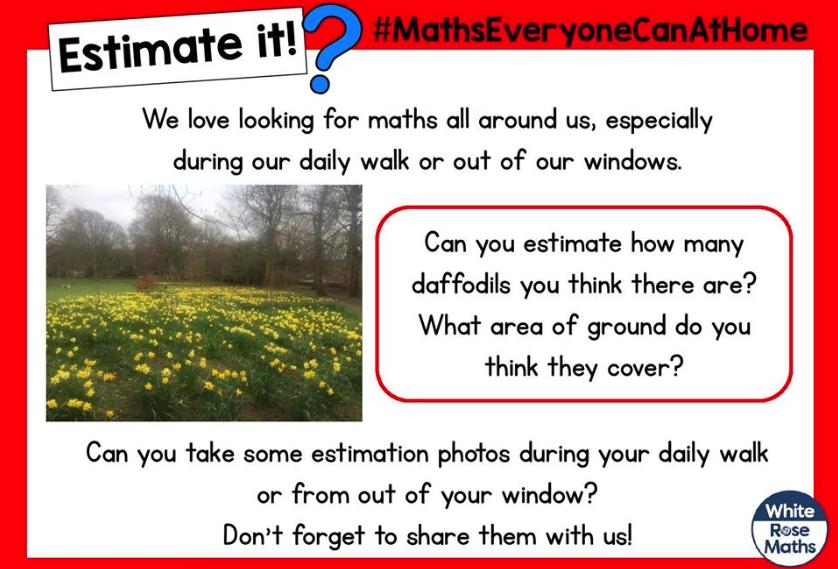 Estimate it! – 8th April