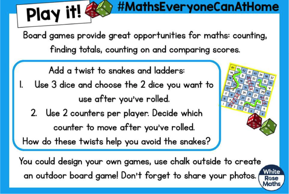 Snakes & Ladders – 17th April
