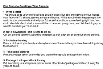 Create a Time Capsule
